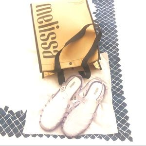 Melissa 90's jelly shoes Possession size 7 NEW!!